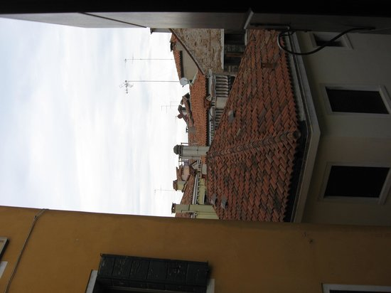 Istituto San Giuseppe: my view from window room 10