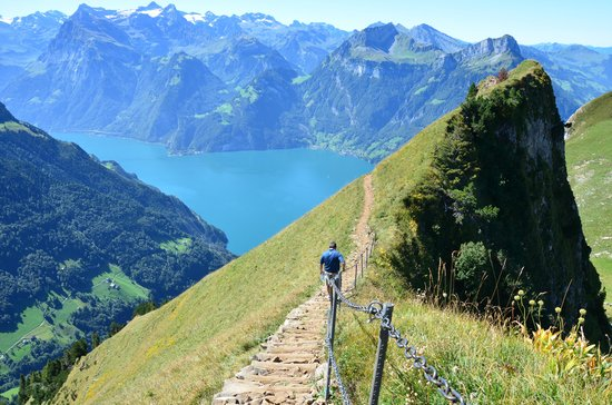 Swiss Holiday Park : The hike from Klingenstock
