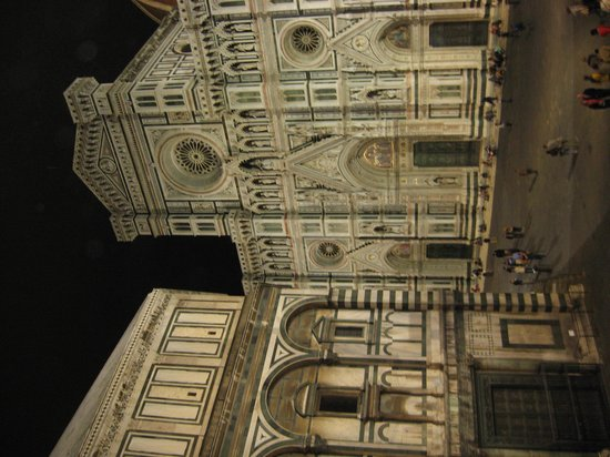 A Florence View B&B: night view from room