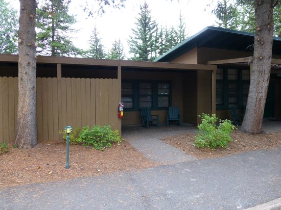"Jackson Lake Lodge: Outside of the ""cottage"""