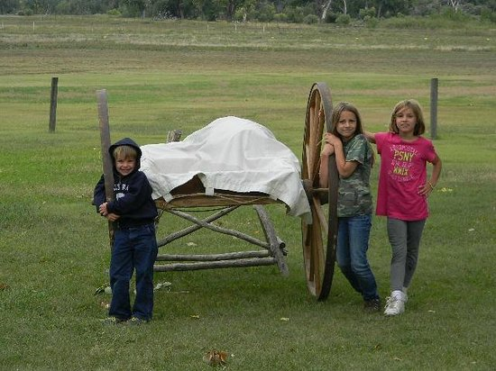 Fort Laramie National Historic Site: Hanging out
