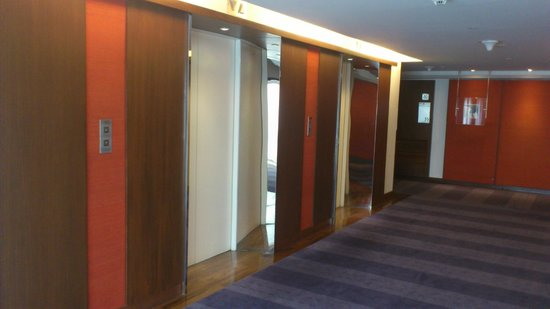 Pullman Bangkok Hotel G: Lift area on 'traditional'/executive floor