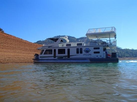 Antler Resort and Marina: Orion Houseboat Sept. 2013