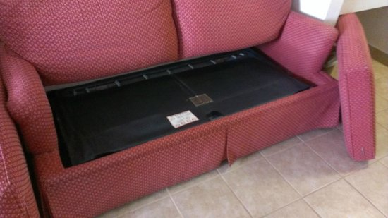 Days Inn Gettysburg: Sleeper sofa