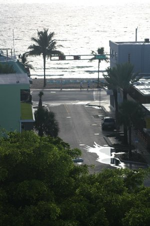 Fort Lauderdale Beach Resort: View from Room