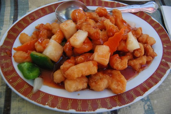 Hidden Village: Sweet and Sour Shrimp