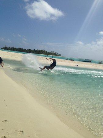 Kiteboard Aitutaki: Patrick