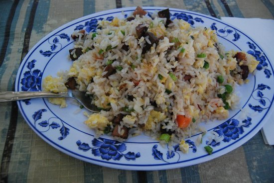 Hidden Village: BBQ Pork Fried Rice