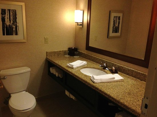 Louisville Marriott Downtown: Nice bathroom