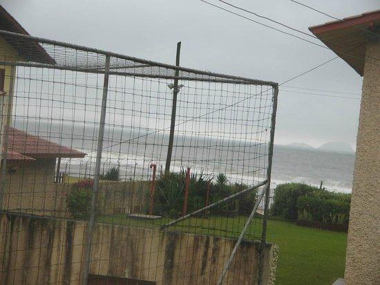 Pousada Mar do Leste: Vista do meu apartamento!