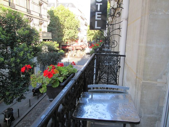 Hotel Europe Saint Severin: view from balcony