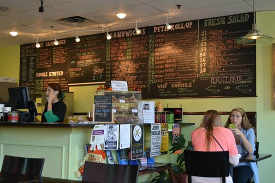 Cafe Kushco: Look at great variety on menu board