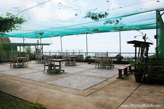 Joaquin's Bed and Breakfast : Restaurant veranda
