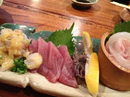 Funakura no Sato: 沖縄らしい刺し盛り