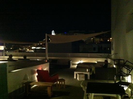 Hostal Juanita: Terraza chill out