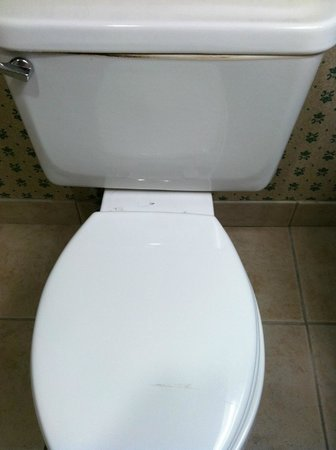 St Augustine Hotel & Suites: Unclean toilet upon arrival