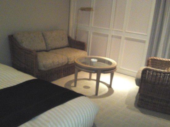 Okura Akademia Park Hotel: ソファー ゆったりできます
