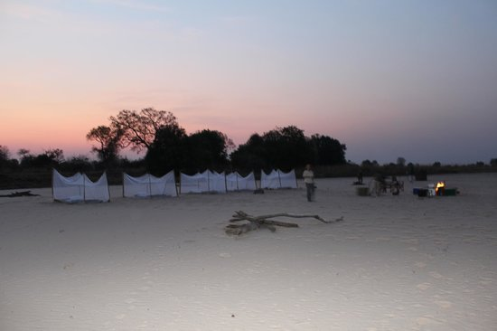 Nsolo Bush Camp - Norman Carr Safaris: Sleep Out Camp Site