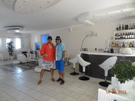 Dream Island Hotel: reception