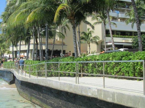 Sheraton Waikiki: Hotel Waterfront