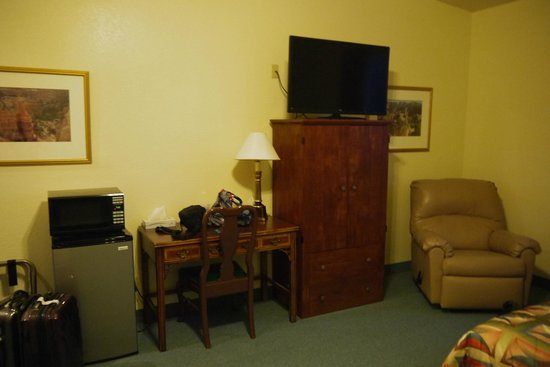 Grand Staircase Inn: Equipement de la chambre