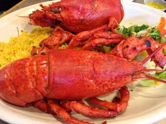 Billingsgate Lighthouse Cafe : steamed lobster