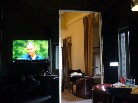 Radisson Blu Hotel, Madrid Prado : リビング