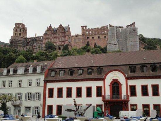 Leonardo Hotel Heidelberg City Center: Castelo