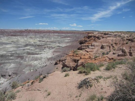 Winslow, AZ: Little Painted Desert Park From Picnic Grounds