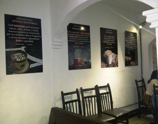 Macinare Caffe: Información de los tipos de café
