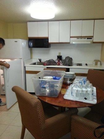 Celebration Suites: cocina comedor amplio y funcional