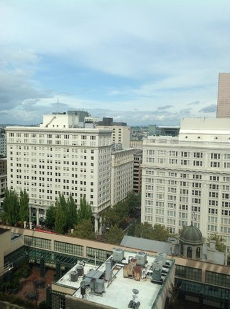 Hilton Portland Downtown: Views from 20th Floor