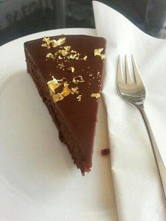 Julius Meinl am Graben: Torta de Chocolate Tradicional