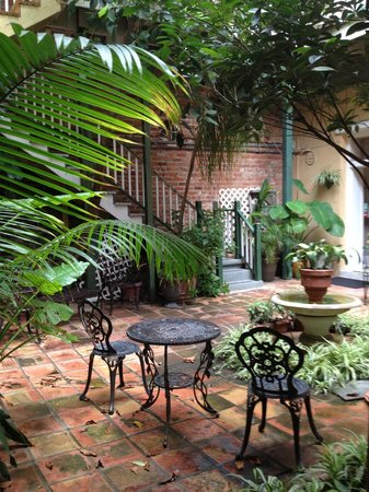 Hotel Villa Convento: Request Courtyard—It's so perfect