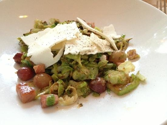 Borg's Ocean Front Motel : phenomenal Brussels sprouts salad