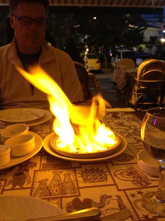 Old Cappadocia Cafe & Restaurant : The pottery kebab