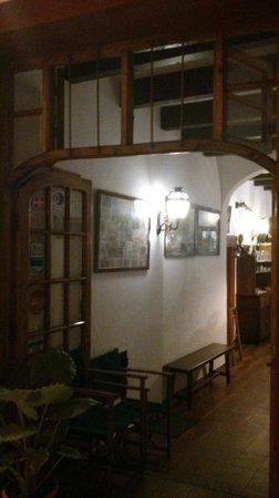 El Horno: Eingang ins Restaurant