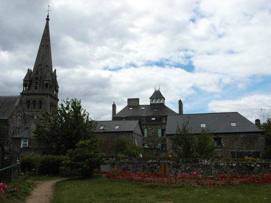 Parc du Thabor : Accesso dalla chiesa