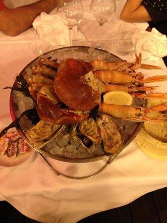 Le Cafe de Saint Malo : 一番安いプレート料理