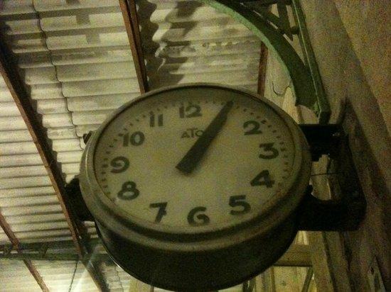 L'Ancienne Gare : Horloge