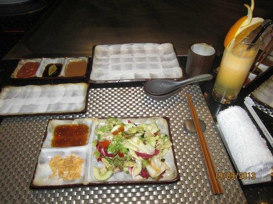 NagaWorld Hotel & Entertainment Complex : The Teppanyaki (Japanese) restaurant