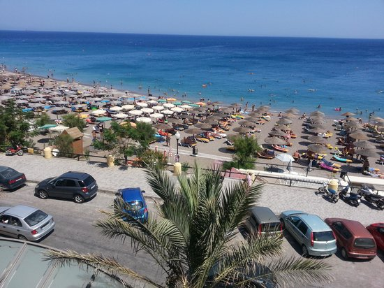 Hotel Mediterranean: View from our seaview room