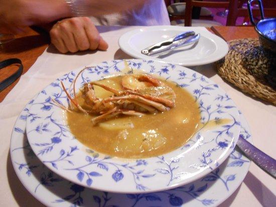 La Ciudadela: Lobster stew