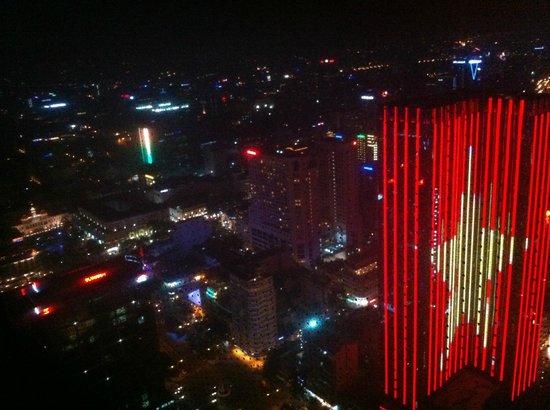 EON Heli Bar: View of Ho Chi Minh City