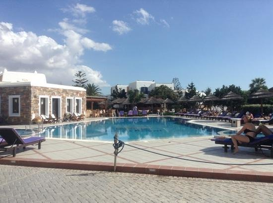 Naxos Resort Beach Hotel: piscine