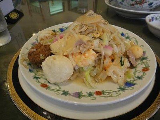 Kozanro Nagasaki Chinatown Honten: 特製皿うどん