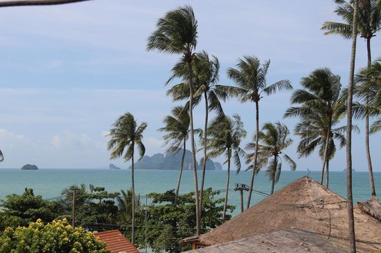Phra Nang Inn : View from 4th floor