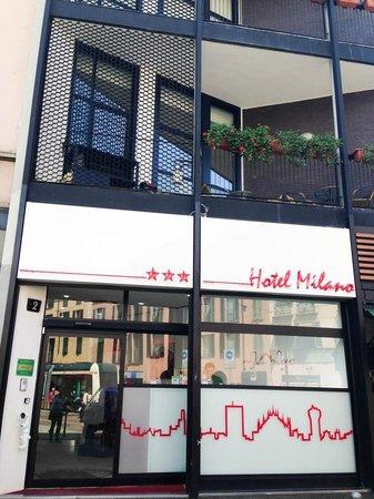 Hotel Milano Navigli from the street