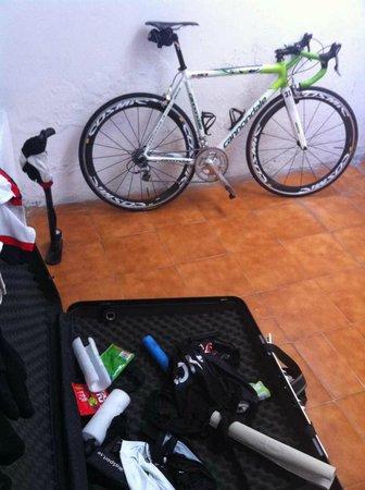 Niza Apartments: Tork- och cykelservice+väskuppbevaring i svalutrymmet