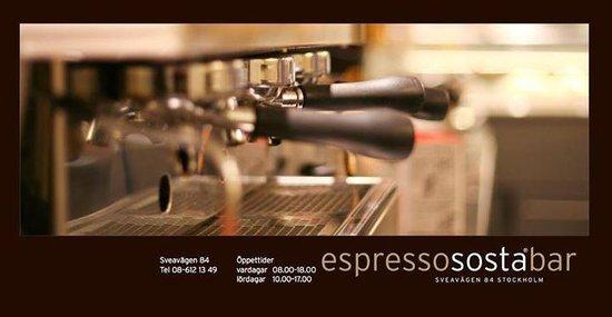 Espresso Sosta Bar : front
